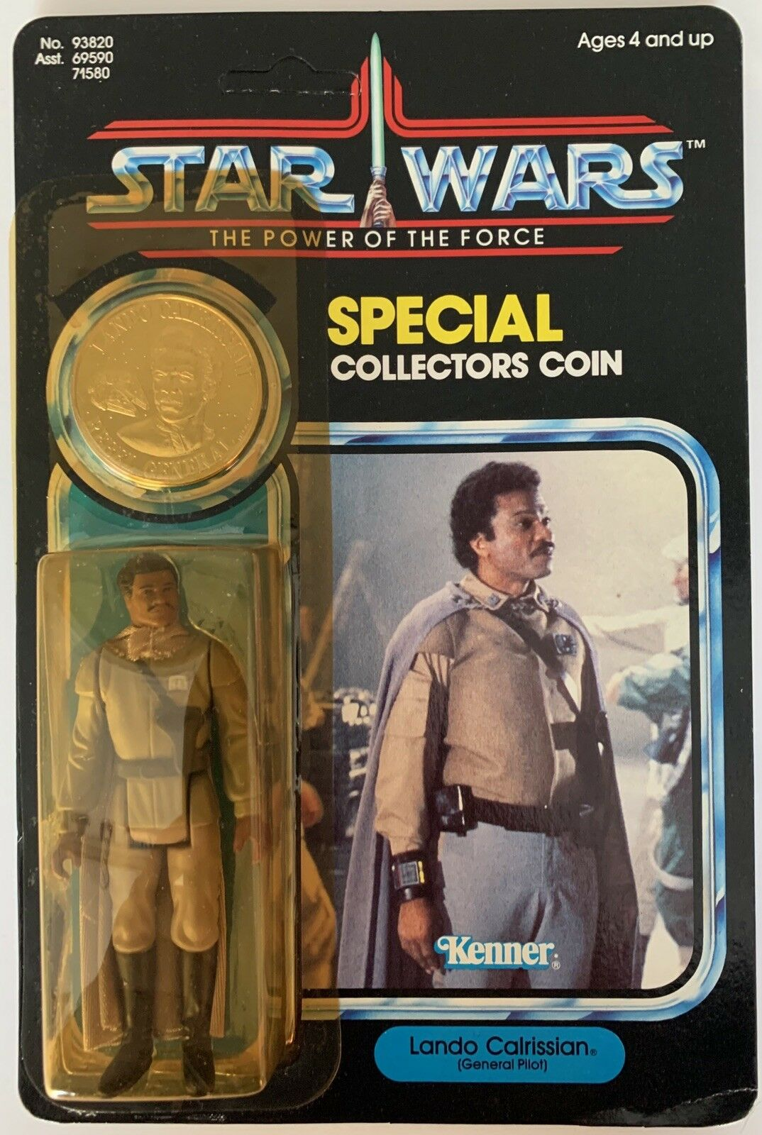 Star Wars - - - The Power Of The Force - Lando Calrissian (General Pilot) 7a5921