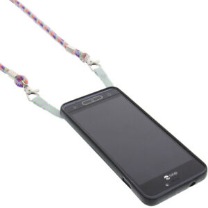 Case-with-Mobile-for-Doro-8035-Shoulder-Case-Band-Cord-Rainbow
