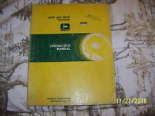 John Deere 4640 And 4840 Farm Tractors Operators Manual Omr65463