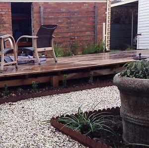 Image Is Loading Cottage Style Metal Garden Edging Corten Steel Pre