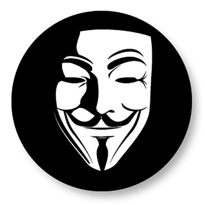 Porte clé Keychain Ø45mm Anonymous Anonyme V pour Vendetta G Fawkes