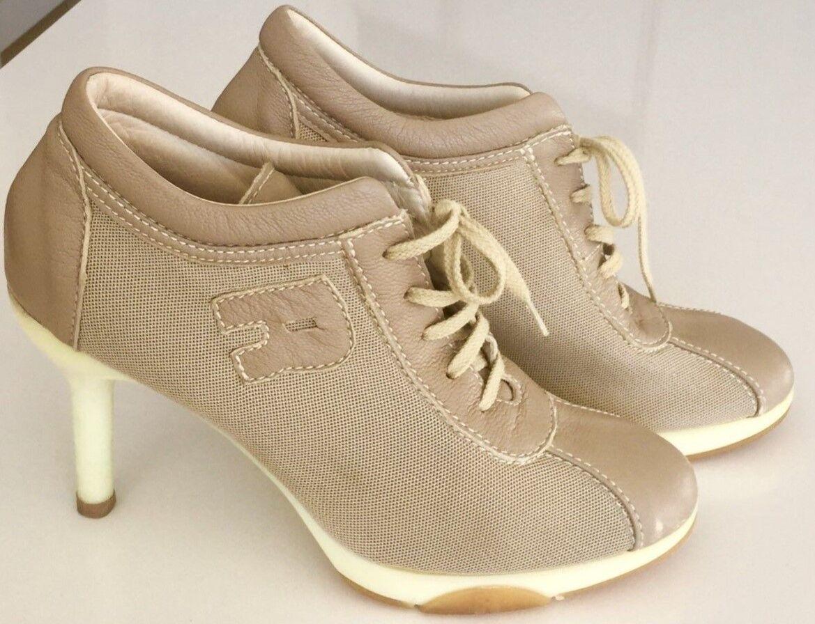 Rucoline High Heel Sneakers Beige 8 38