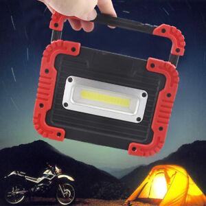 30W-COB-LED-Arbeitsleuchte-Akku-Werkstattlampe-Baustrahler-Camping-Flutlicht-DHL