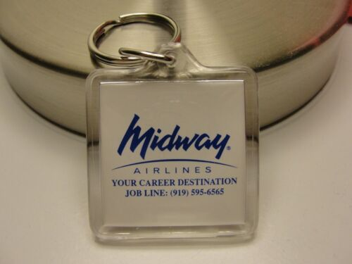 Midway Airlines Key Chain