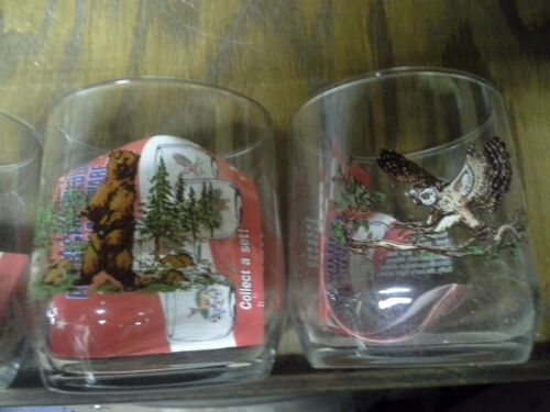 Sunoco Collectable Vintage Rare OOP DEER ONLY Animal Drinking Glass Sun Oil