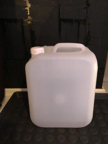 10 Liter Kanister Kunststoff Mit Deckel Weiß