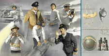 1/35th scale WWII Vosper crew figure set by Italeri