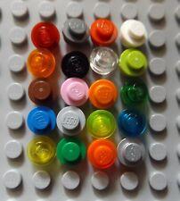 3005743 Brick 30057 10x LEGO NEW 1x1 Transparent Dark Blue Round Plate Stud