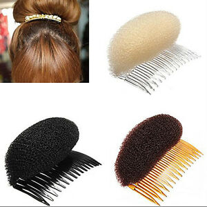 Great-Classic-Hair-Styler-Volume-Bouffant-Beehive-Shaper-Bumpits-Bump-Foam-Comb