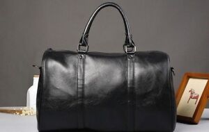 Men-039-s-NEW-Duffel-Tote-Bags-LARGE-Suitcases-Luggage-Satchel-Black-Brown-Leather