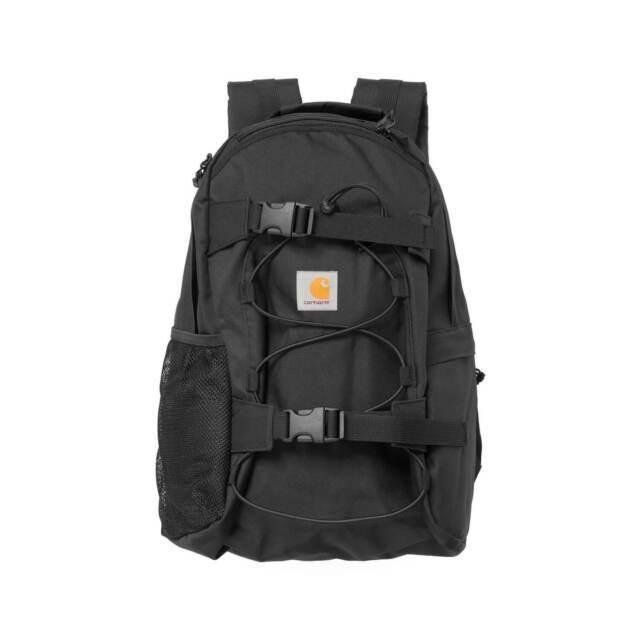 Carhartt Wip Backpack Kickflip Backpack Black Everyday Backpack Board Holder