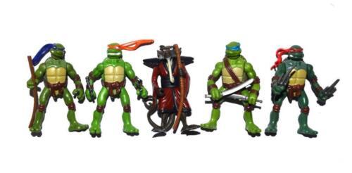 """2006 Playmates TMNT Teenage Mutant Ninja Turtles Splinter 2/"""" Mini Action Figure"""