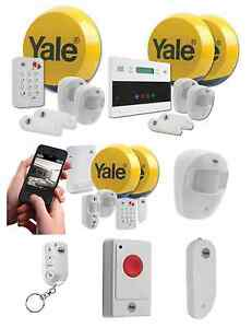 yale easy fit wireless alarm home property security system. Black Bedroom Furniture Sets. Home Design Ideas