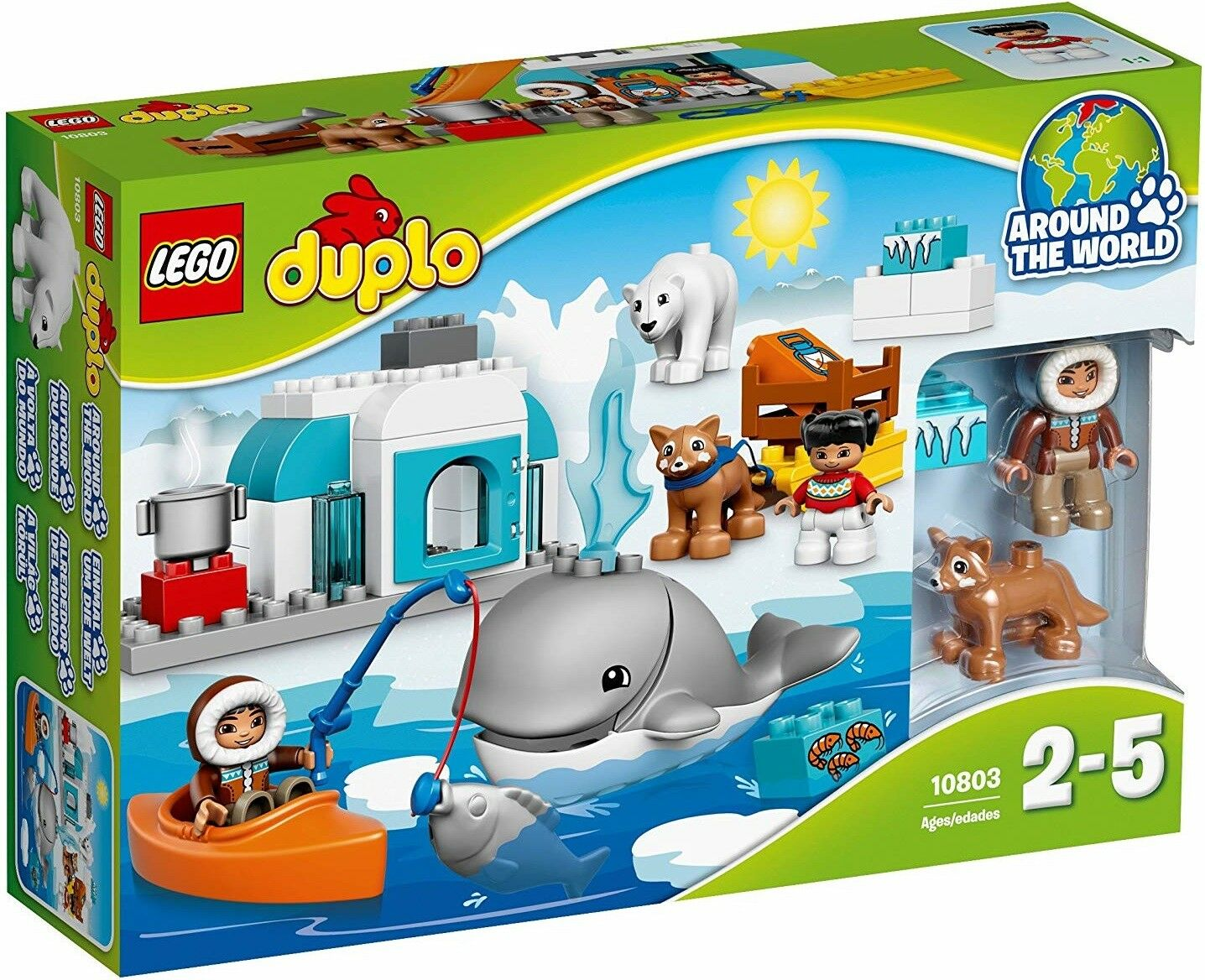 Lego - Duplo - 10803 - all ANIMALS of the ARCTIC
