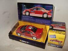 Scalextric C256A Gronholms Peugeot 307 GTA WRC Arbeiten 05 Schlitz Auto mit