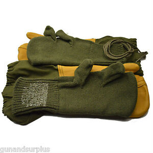 NEW-USGI-US-Military-ECW-Extreme-Cold-Weather-Trigger-Finger-Gloves-Mittens