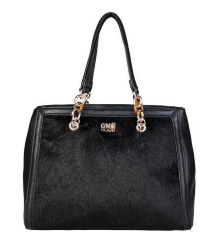CAVALLI CLASS Roberto Umhängetasche Handtasche Tasche Schultertasche schwarz C43