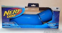 Nerf Durable Dog Interaction Ball Launching Toy Hasbro With Ball Blue
