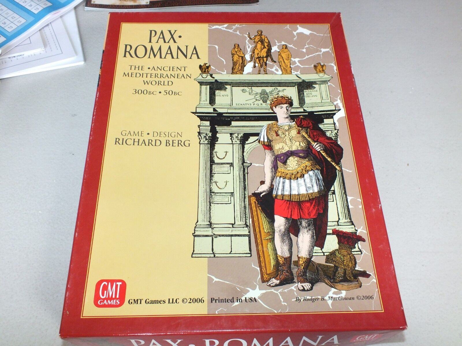 PAX ROMANA Ancient Mediterranean World 300-50BC Game and C3i Mag 19 GMT 0601 LOT