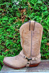 Sancho-Boots-40-Bikerstiefel-Westernstiefel-5122-Biker-Boots