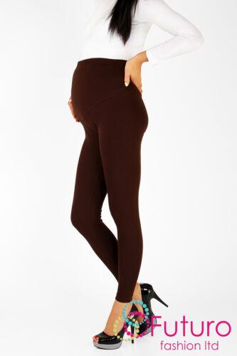 Dick Schwer /& Warm Schwangerschaft Baumwolle Leggings Knöchellang Größen 8-22