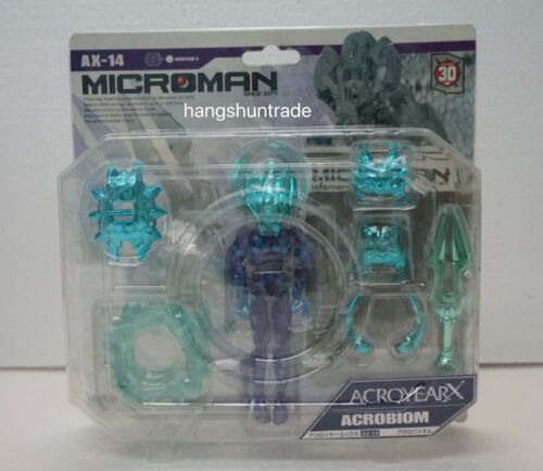 Takara Microman AX-14 AcroYearX Acro Year X Acrobiom Biom Figure