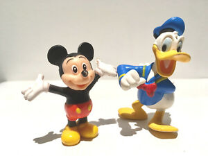Figurines Mickey Mouse Donald Duck Walt Disney Dessin Animee Jouets