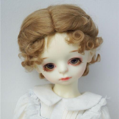 8-9inch Classic Twist 100/%Mohair Doll Wigs 1//3 BJD Hair BJD Wigs 5-6 1//8 6-7 1//6