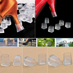 336a33ab6a4 1 Pair Clear High Heel Protectors Stopper Protect Heels Stiletto ...