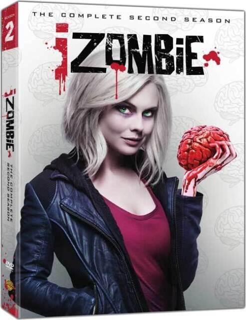 iZombie - The Complete Second Season - Series 2 - Region 1 - DVD - New