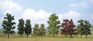 Busch-6943-Gauge-H0-N-2-Poplars-New-Original-Packaging