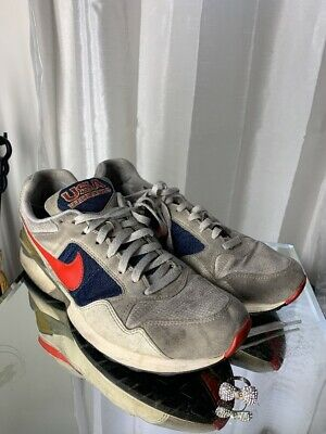 4695272f Nike Air Pegasus 92 QS 617125 641 Max Olympic USA Red White Blue Track  Field | eBay