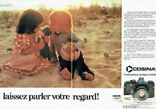 PUBLICITE ADVERTISING 027  1980   Cosina (2p) appareil photo CT2