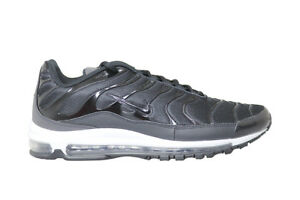 07a2bfff2b7bd5 Mens Nike Air Max 97 Plus  RARE  - AH8144001 - Black Anthracite ...