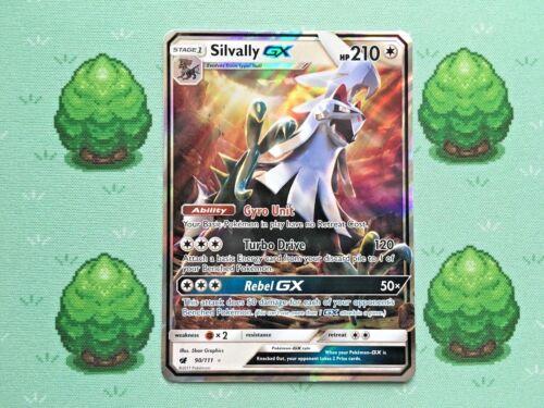 Silvally GX Half Art 90//111 Pokemon SM Crimson Invasion
