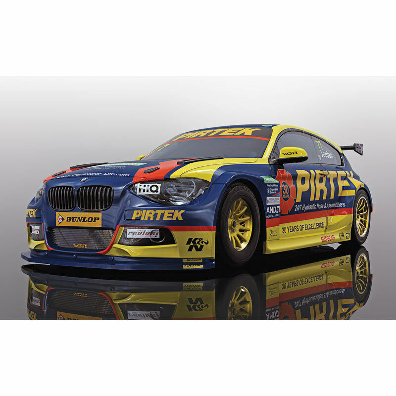 Scalextric Slot Car C4018 BMW 125i-RACING 2018-Andrew Jordan