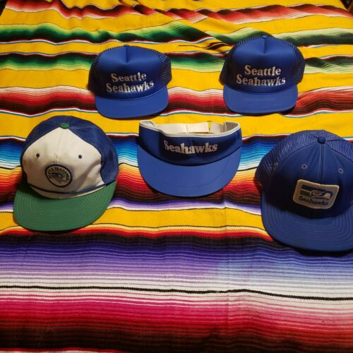 Vintage Seattle Seahawks Hats