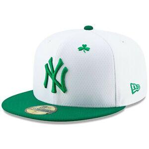 fed002f45b186 New York Yankees New Era 2019 St. Patrick s Day On-Field 59FIFTY ...
