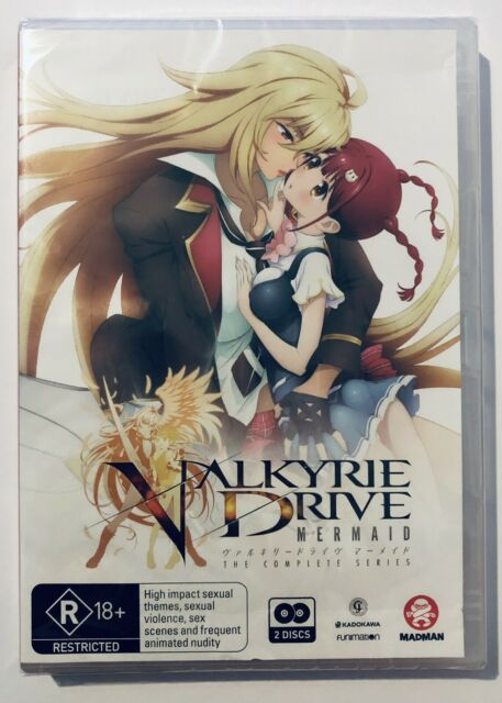 Valkyrie Drive Mermaid (DVD, 2-Disc Set) **NEW & SEALED** Anime R18+ Madman