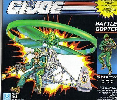 G.i. Joe battlecopter Hasbro 1991 MIB de gran altitud