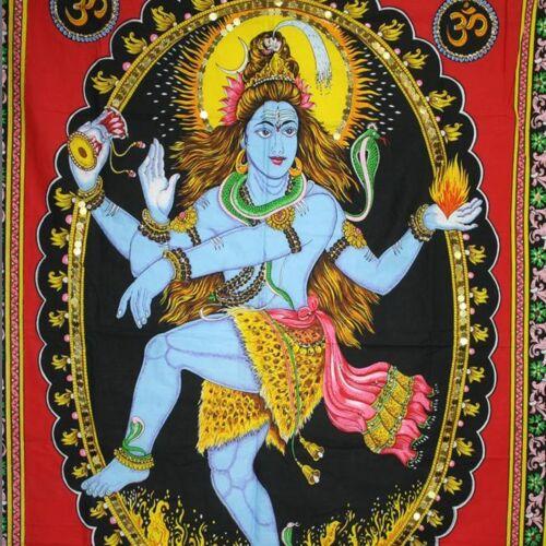 Wandbehang Bild Shiva Nataraj Indien Bollywood Thangka om 40