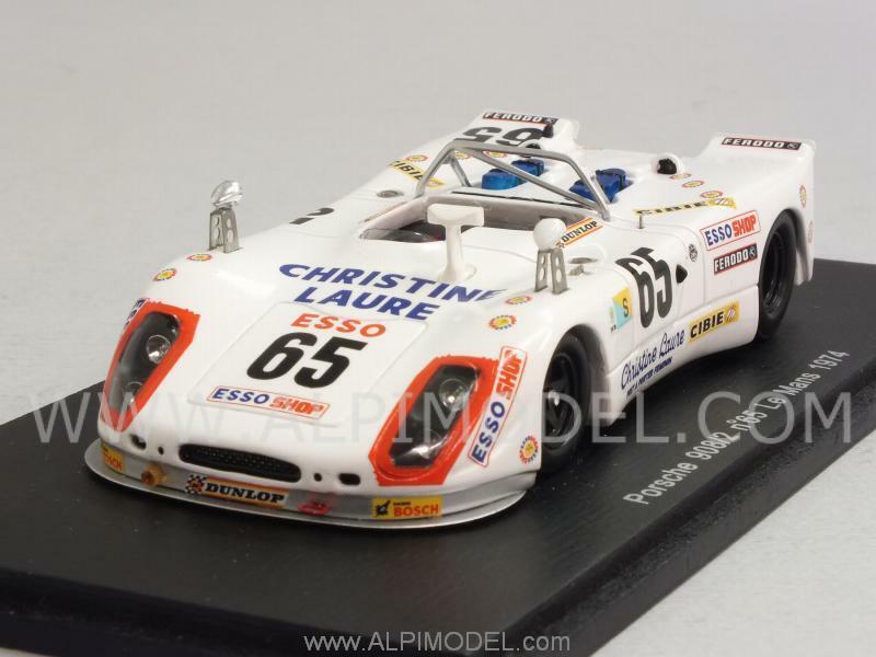 Porsche 908 2 Le Mans 1974 Poirosso - Rondeau 1 43 SPARK S1879