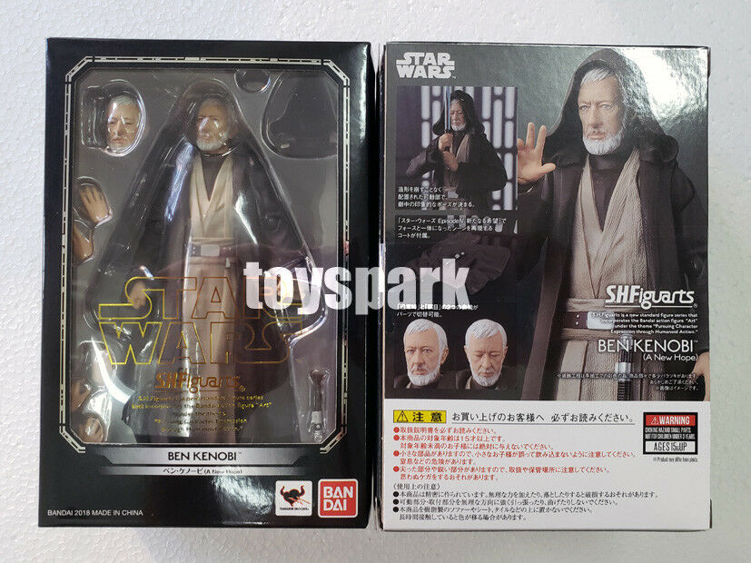 Japan Japan Japan Bandai S.H.Figuarts Star Wars A New Hope Ben OBI-WAN KENOBI action figure 9c2992