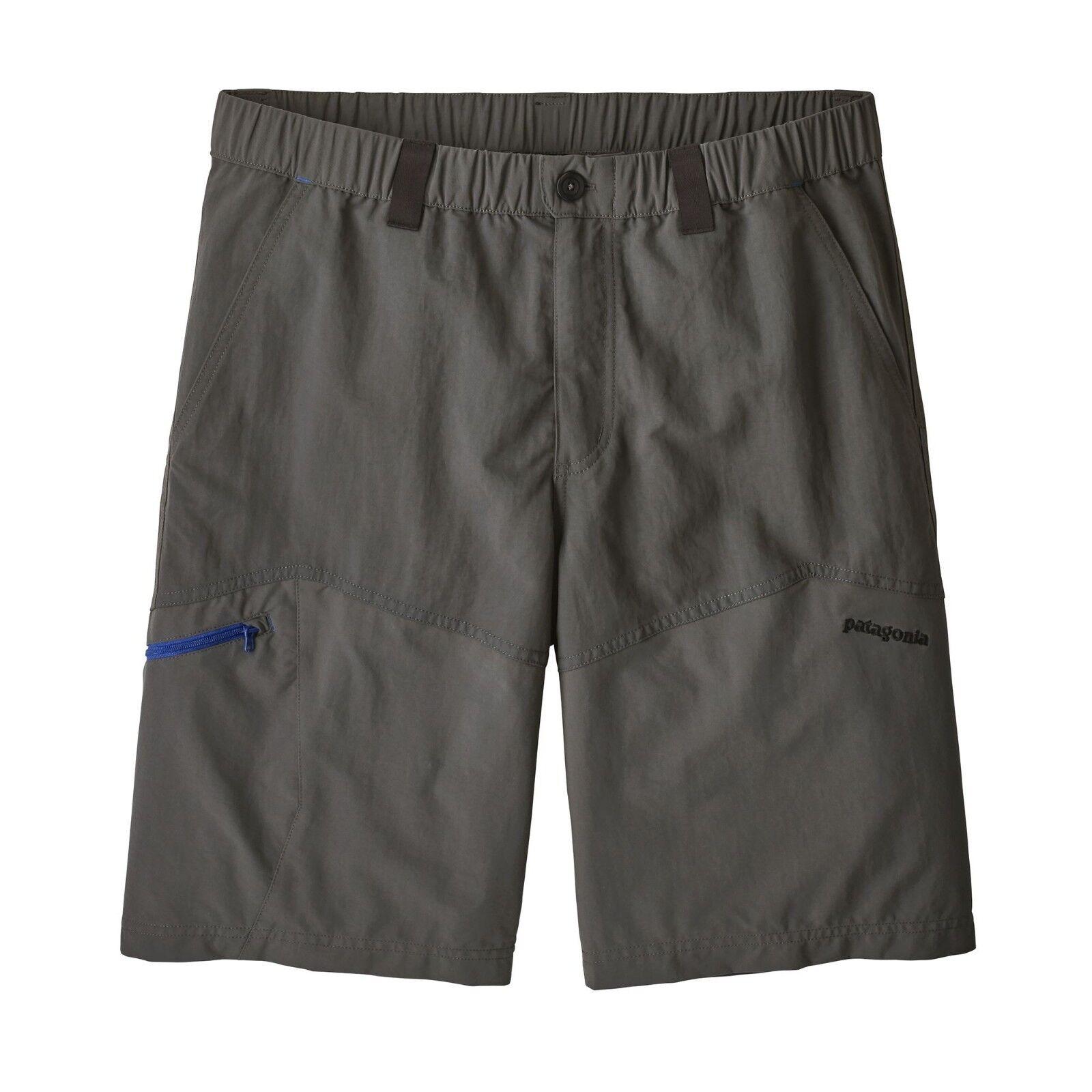 Patagonia Men's Guidewater II Shorts - 10  - FGE - Forge Grey - 50+ UPF