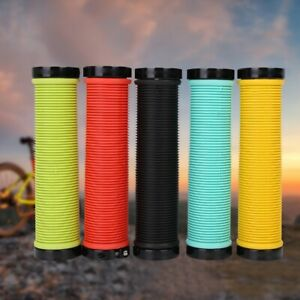 Road-Bicycle-Handle-Bar-Anti-slip-Grips-Lock-On-Mountain-Bike-Handlebar-Grips