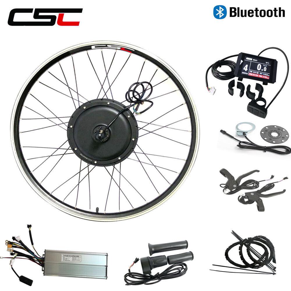 Electric Wheel Bike Motor Kit 48V 500W 1000W 1500W Regeneration blutooth Ebike