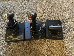 thrustmaster flight control system Mark I