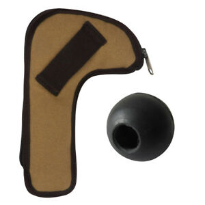 Tourbon-Tactical-Hunting-Rifle-Bolt-Holder-Canvas-Pouch-Mounted-Bolt-Knob-Rubber