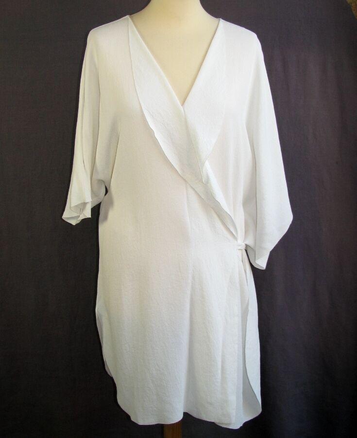 CREA CONCEPT - TUNIQUE ROBE COURTE LÉGÈRE white size 42 - EXCELLENT ETAT