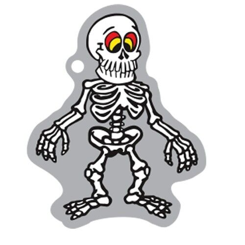Spooky Travel giorno ® ossatura Travelbug traveltag Geocaching trackable Helloween
